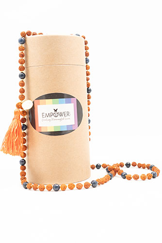 Empower Me Star Sign Mala - Leo