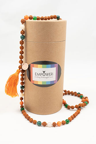 Empower Me Spiritual Mala for Meaning & Purpose