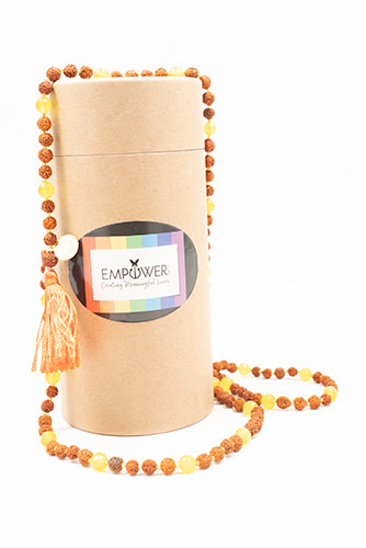 Empower Me Star Sign Mala - Sagittarius